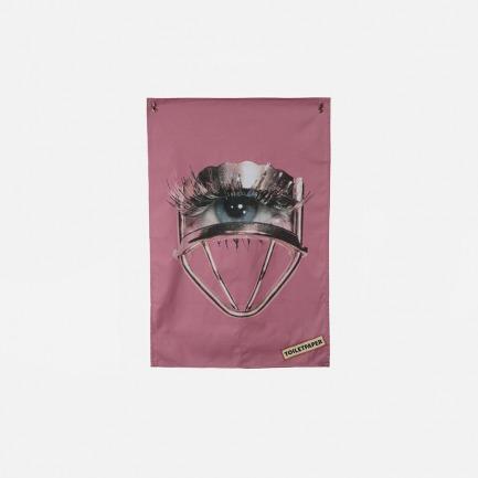 Toiletpaper系列 干棉茶巾 -眼睛图案