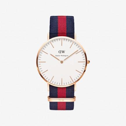 潮流玫瑰金尼龙带腕表 | 北欧简约风 中性经典款