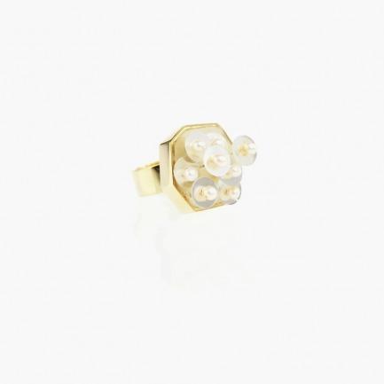 远观overview系列戒指 天然珍珠