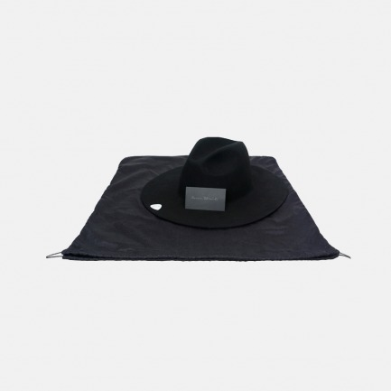 Black Sails 手工羊毛钟形软檐礼帽