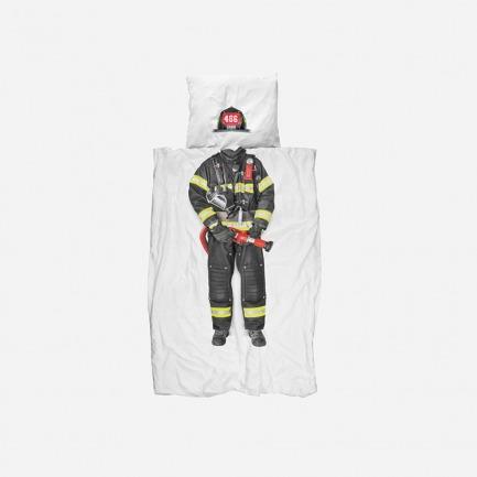 消防员 被套+枕套 套装(单人/双人)