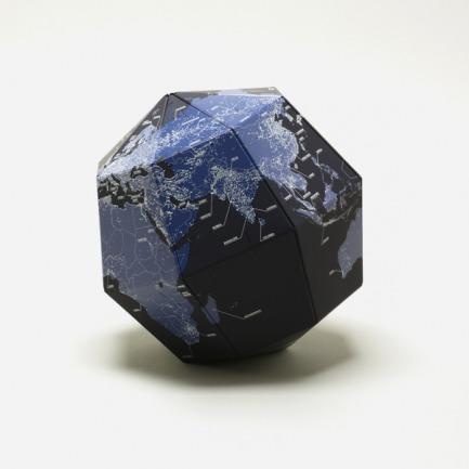 折纸地球仪-黑夜 | 荣获2012红点设计大奖