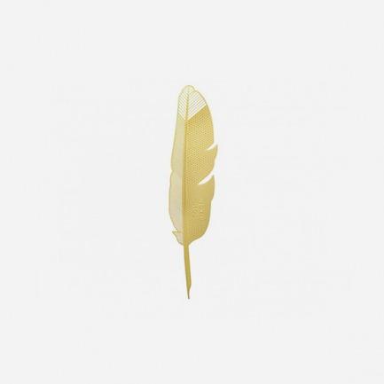黄铜书签 | 纯手工打造 精致耐用【羽毛】