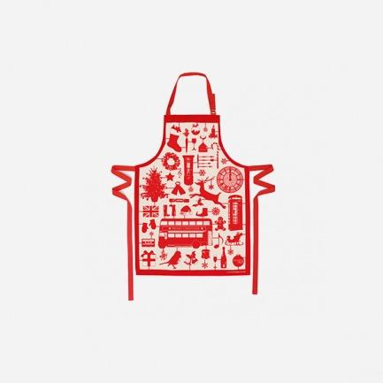 围裙(模型圣诞节/红色)