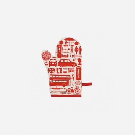 烤箱手套(模型伦敦/多色)