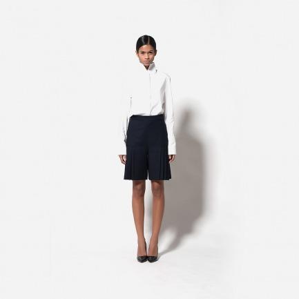 普里兹高腰短裤