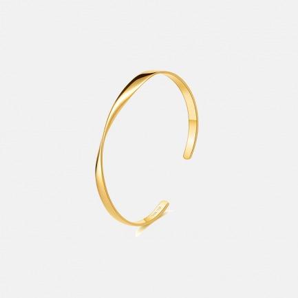 隐-莫比乌斯环18K纯金手镯手环【15个自然日内发货】