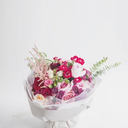 红桃 Coral 花束