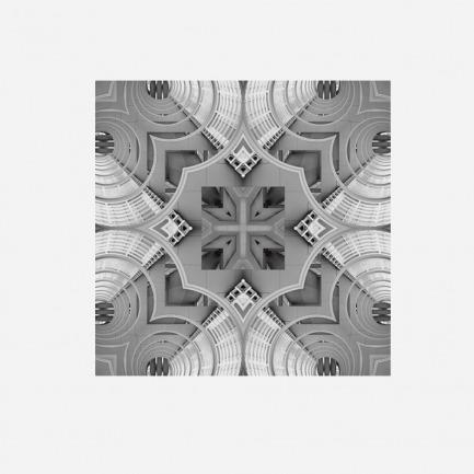 迷宫图案丝巾 德国进口染色固色技术处理(预售款)