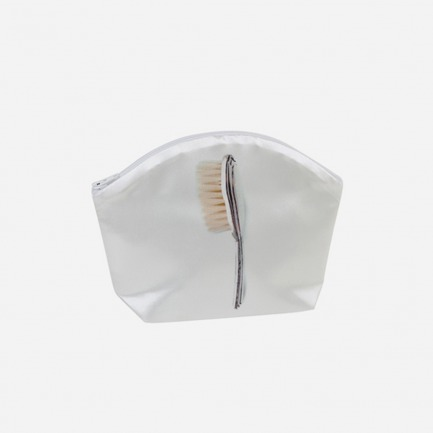 全棉收纳包-梳子图案 | 文艺旅行化妆包