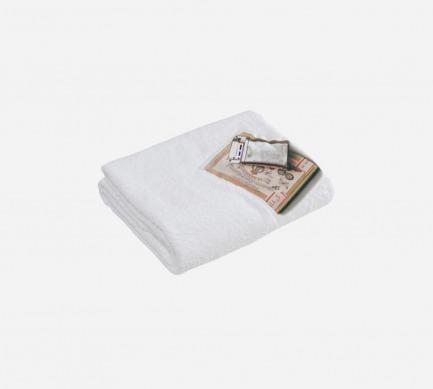 火柴图案浴巾