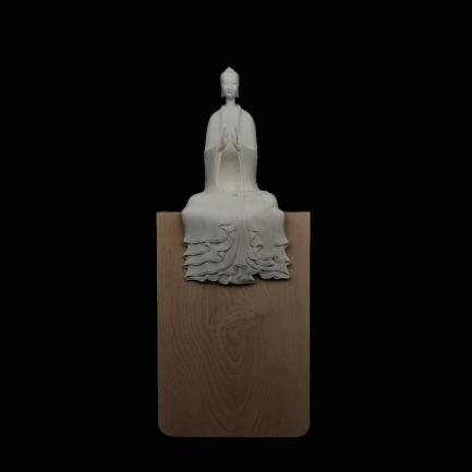 多宝佛半跏趺坐像 | 蒋家班造汉传佛教造像