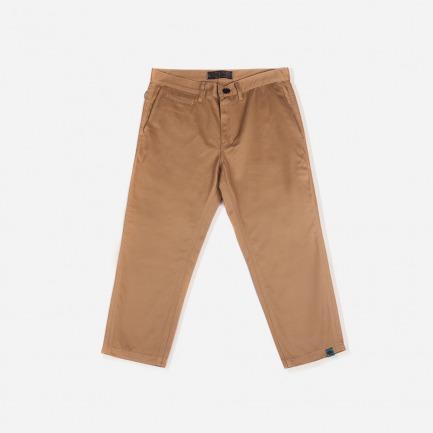 马裤形8分裤(卡其)