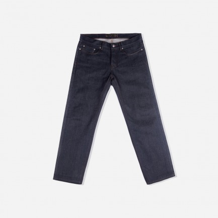 布边牛仔裤A