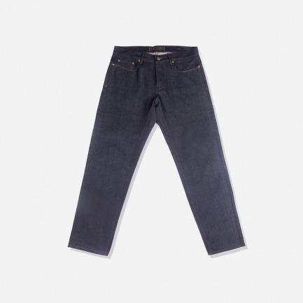 布边牛仔裤B