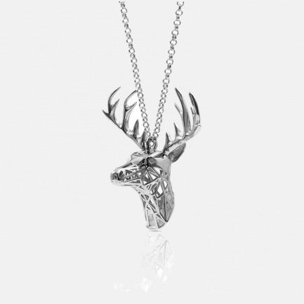 Zoo series小鹿项链 | 3D打印镂空设计 光与影的灵动交错【两色可选】