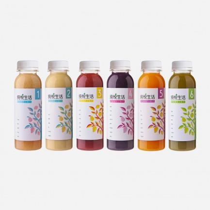 纯悦生活果蔬汁套装(六瓶装)