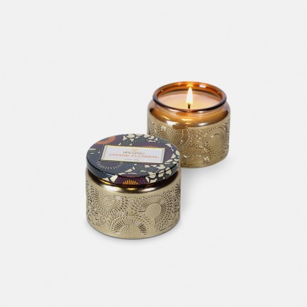 Japonica系列小浮雕杯香氛蜡烛(也称鹤望兰)
