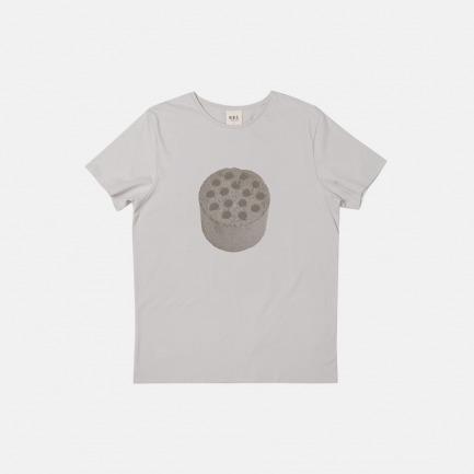 吃茶去男款全棉T恤 蜂窝煤 | 纯棉材质,穿着舒适