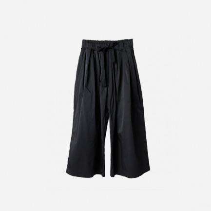 绑带宽松防水八折武士裤