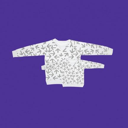 小画家系列卫衣 【凯斯哈林】款亲子装 三人套装(需备注尺寸)