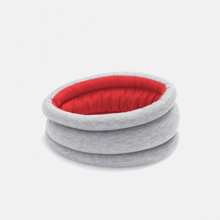 轻型款鸵鸟枕【红色】