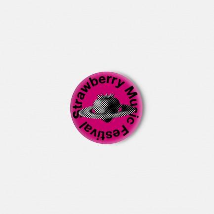 草莓音乐节亚克力冰箱贴(多色)