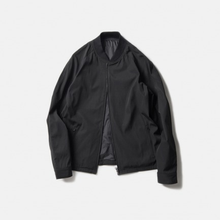 黑色功能性口袋甲克衫(FUNCTIONAL POCKET BLOUSON/BLACK)