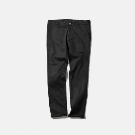 瘦身斜纹棉布裤(SLIM-FIT CHINO PANT/BLACK)