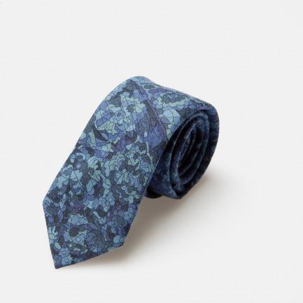 Olivier Wool Blend Tie羊毛混纺领带