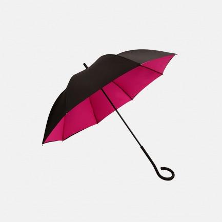 黑红双层伞布
