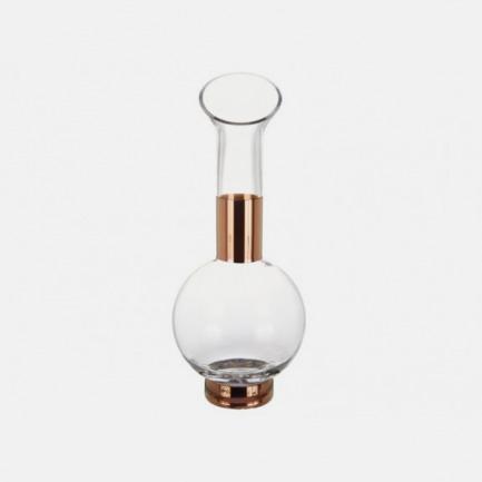 镀铜烧瓶型醒酒器 | 最前卫设计 人工打造而成(Jug)