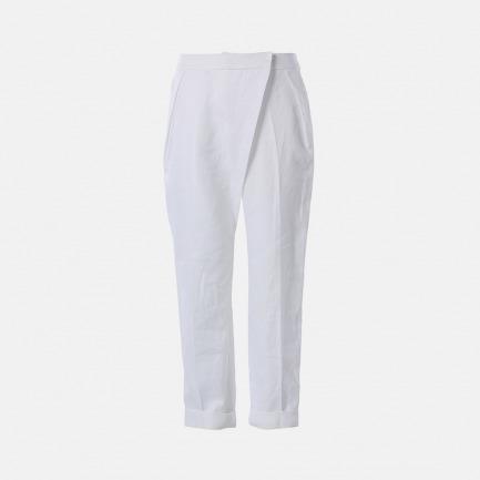 前大褶长裤