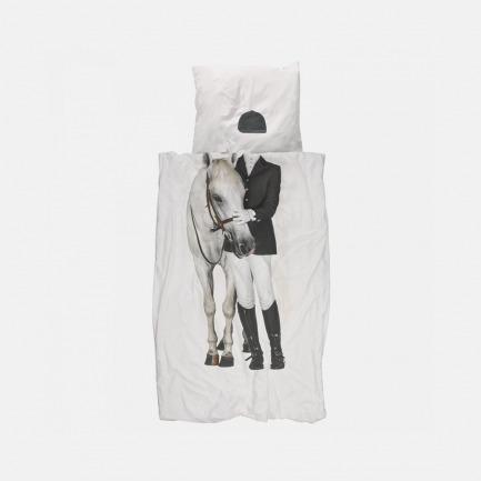 白马王子 被套+枕套 套装(单/双人)
