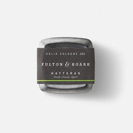HATTERAS锡罐固体香水