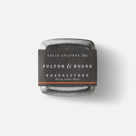 SHACKLEFORD固体古龙香水 | 纯天然精油和优质的香料