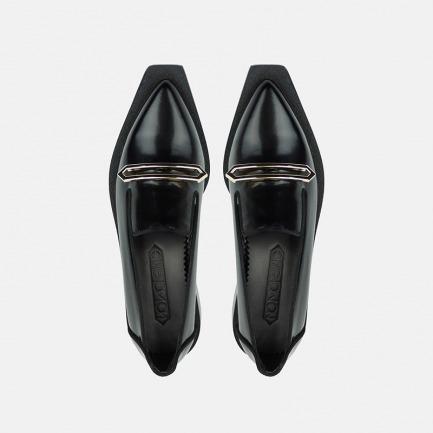 几何系列女式乐福鞋