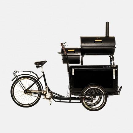 高颜值复古烧烤自行车 | 户外烧烤、家庭郊游、庭院烧烤