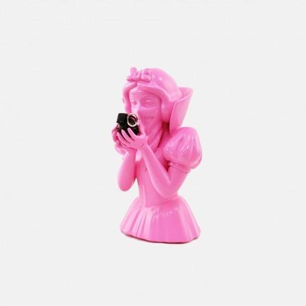 Bad Apple雕像 粉色