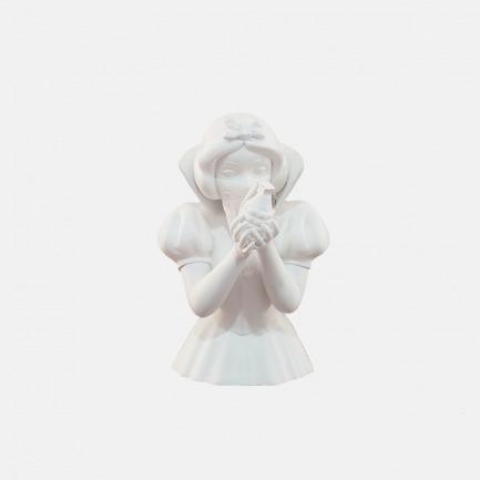 Bad Apple雕像 白色