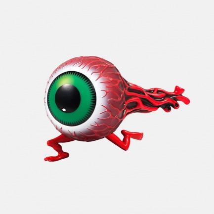 奔跑的大眼 雕像