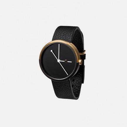 极简主义手表ECLIPSE 金色