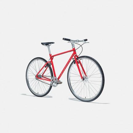 自动变速的城市骑行自行车 火山红 | 黑科技骑行 内置蓝牙传感器