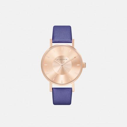 IRIS ROSE GOLD BLUE 36MM 手錶