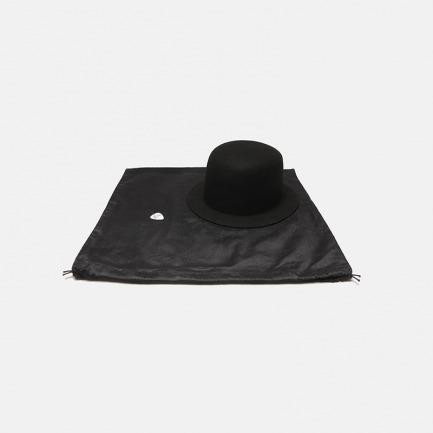黑色简约圆顶礼帽 Heretic  | 全羊毛 手工制作 圆顶直檐