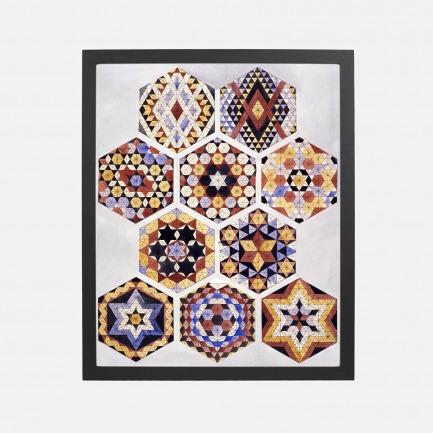 《迪拜万花筒》装饰画  | 来自英国第二大博物馆典藏