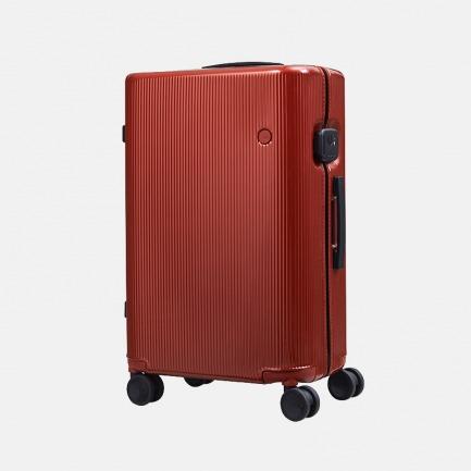 德国红点奖 PISTACHIO系列 砖红条纹超轻旅行箱【顺丰包邮】
