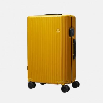 德国红点奖 PISTACHIO系列 芥黄条纹超轻旅行箱【顺丰包邮】