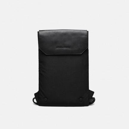 包盖式双肩电脑包