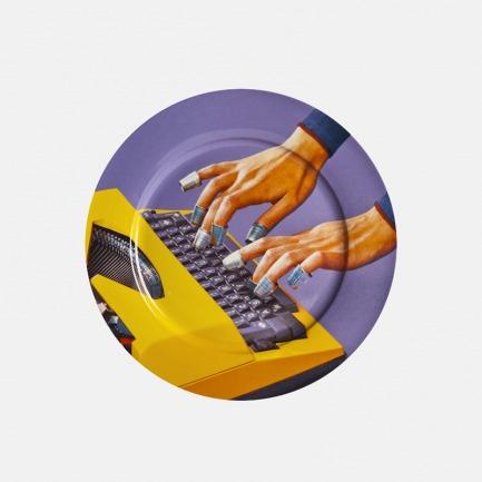 TOILETPAPER系列 餐盘 打字机